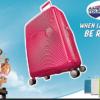 מזוודה קשיחה קלה American Tourister Soundbox 118