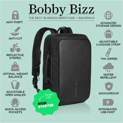 Bobby Biz תיק נגד גניבות 19