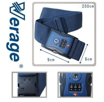 רצועת הידוק עם מנעול למזוודה Verage TSA Strap Lock 30