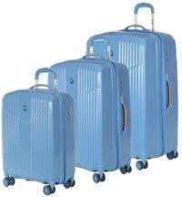 סט שלישיית מזוודות קשיחות Verage V Lite 8