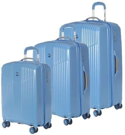 סט שלישיית מזוודות קשיחות Verage V Lite 12