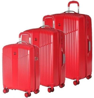 סט שלישיית מזוודות קשיחות Verage V Lite 6