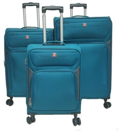 סט מזוודות בד סוויס Swiss Travel 3
