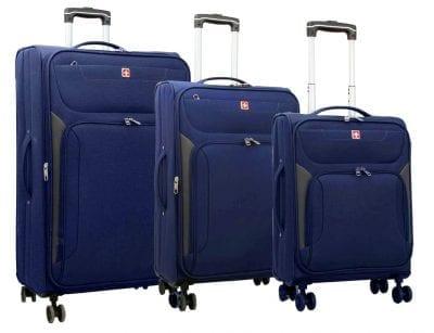 סט מזוודות בד סוויס Swiss Travel 1