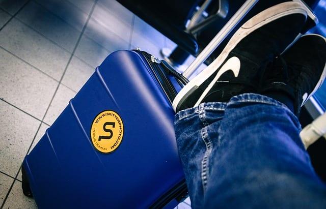מזוודת טרולי למטוס