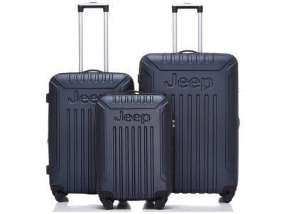 סט מזוודות קשיחות Jeep Missouri כחול 3