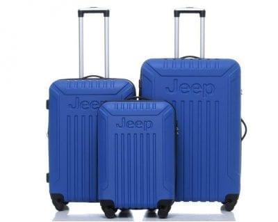 סט מזוודות קשיחות Jeep Missouri כחול בהיר 2
