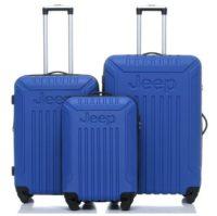 סט מזוודות קשיחות Jeep Missouri כחול בהיר 3
