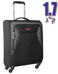 מזוודה לעליה למטוס קלת משקל Marco Polo piper שחור