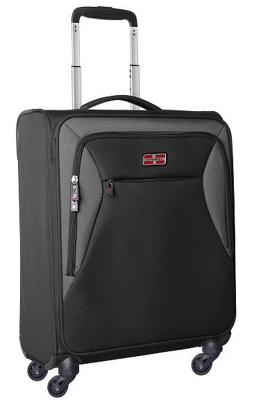 מזוודה לעליה למטוס קלת משקל Marco Polo piper שחור 1