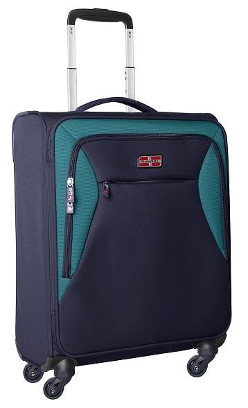 מזוודה לעליה למטוס קלת משקל Marco Polo piper כחול 1