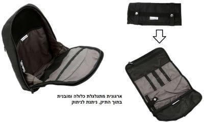 תיק גב כתף אחת אוכף סוויס Victorinox Professional 11