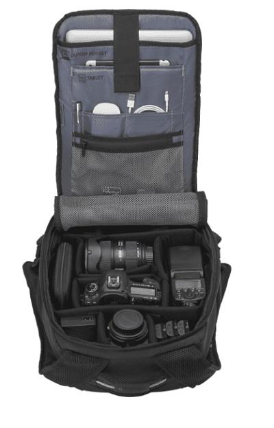 תיק גב למצלמה וונגר Swiss Wenger Tech Pack 2