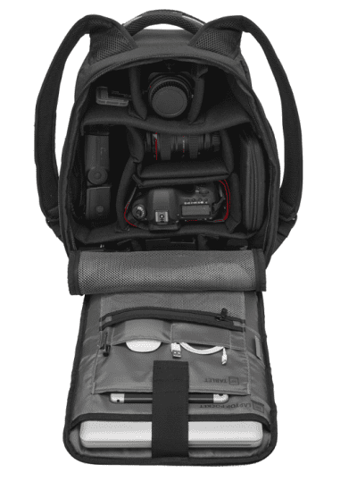 תיק גב למצלמה וונגר Swiss Wenger Tech Pack 4