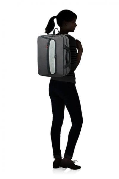 """תיק נסיעות גב + צד למחשב 15.6"""" American Tourister City Aim 17"""