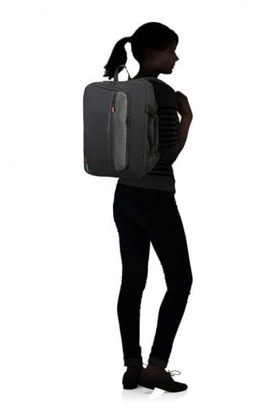 """תיק נסיעות גב + צד למחשב 15.6"""" American Tourister City Aim 6"""