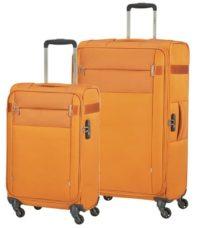סט צמד מזוודות בד קלות סמסונייט Samsonite CityBeat 8