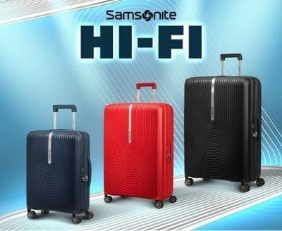 מזוודה קשיחה קלה Samsonite Hi Fi 105