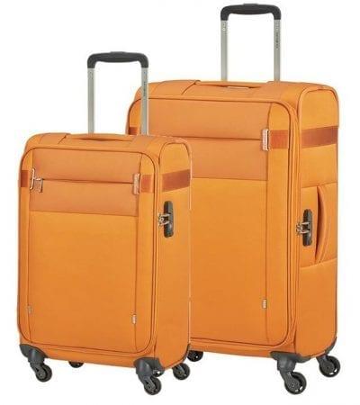 סט צמד מזוודות בד קלות סמסונייט Samsonite CityBeat 4