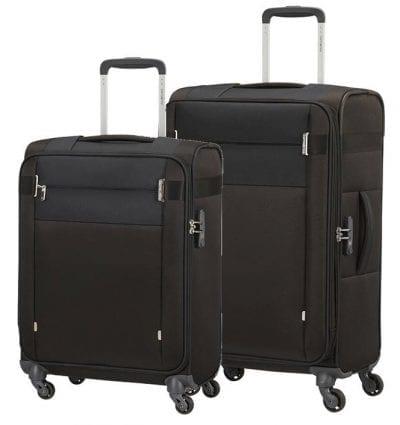 סט צמד מזוודות בד קלות סמסונייט Samsonite CityBeat 3