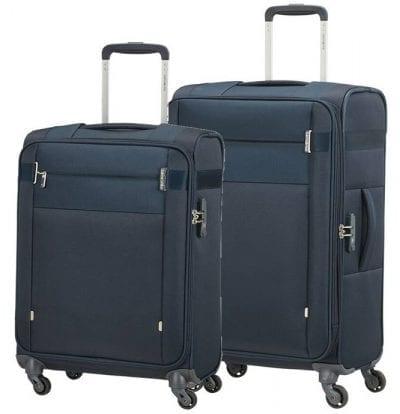 סט צמד מזוודות בד קלות סמסונייט Samsonite CityBeat 2