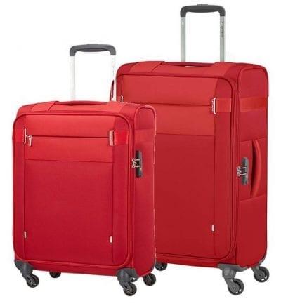 סט צמד מזוודות בד קלות סמסונייט Samsonite CityBeat 1
