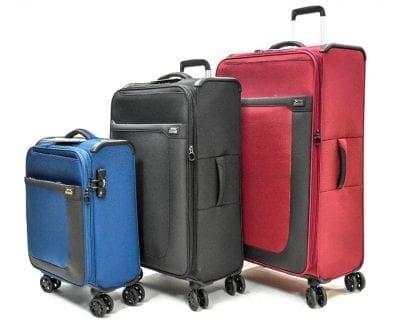 סט שלישיית מזוודות בד שלזינגר Slazenger Washington 4
