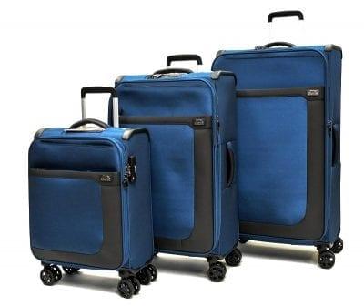 סט שלישיית מזוודות בד שלזינגר Slazenger Washington 8