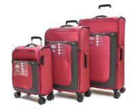 סט שלישיית מזוודות בד שלזינגר Slazenger Washington 7