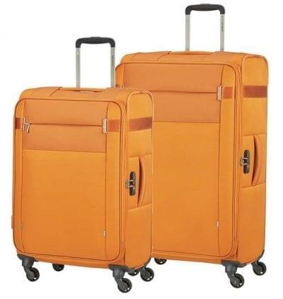 סט צמד מזוודות בד קלות סמסונייט Samsonite CityBeat 12