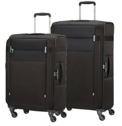 סט צמד מזוודות בד קלות סמסונייט Samsonite CityBeat 11