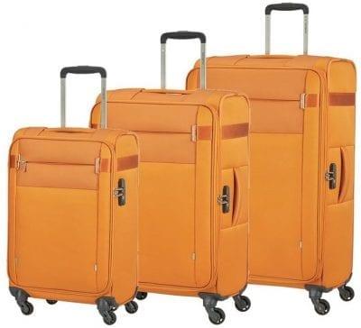 סט שלישיית מזוודות בד קלות סמסונייט Samsonite CityBeat 3