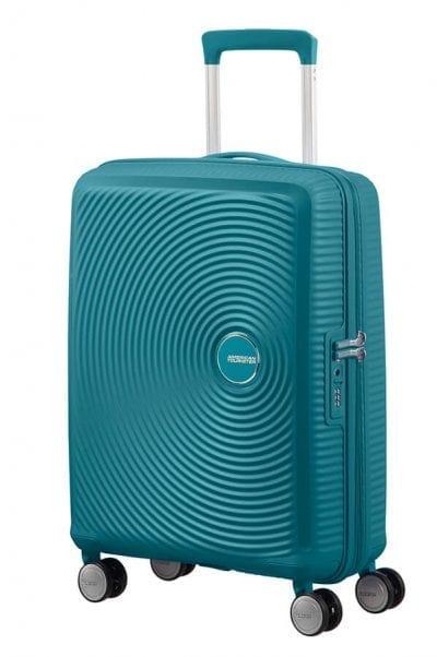 מזוודה קשיחה קלה American Tourister Soundbox 34