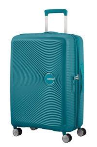 מזוודה קשיחה קלה American Tourister Soundbox 22