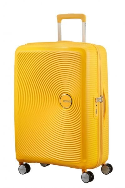 מזוודה קשיחה קלה American Tourister Soundbox 14
