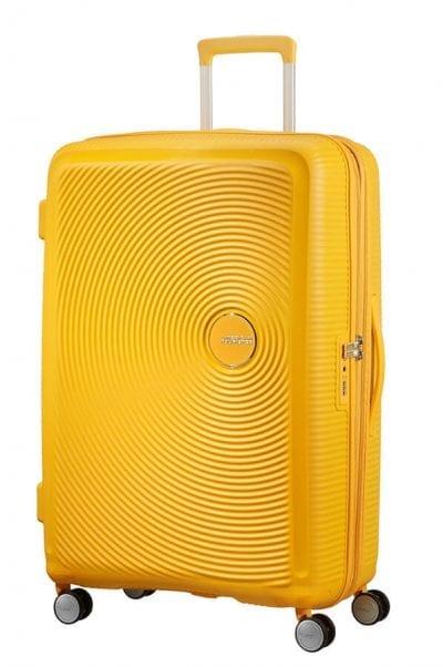 מזוודה קשיחה קלה American Tourister Soundbox 1