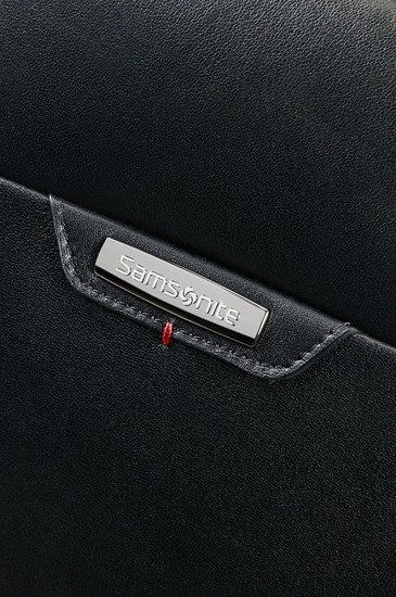 Samsonite Pro-Dlx leather rolling tote 14