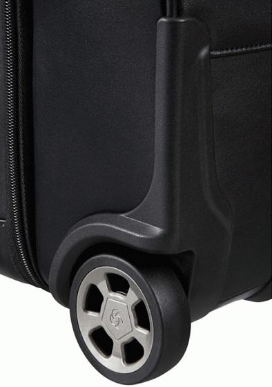 Samsonite Pro-Dlx leather rolling tote 17