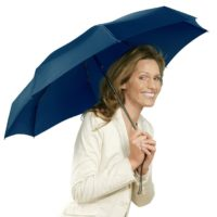 מטריה קטנה במיוחד בקייס קשיח Knirps X1 10